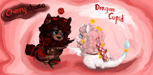 Valentine petal Dragon Auctions (1/2 OPEN) by cactos