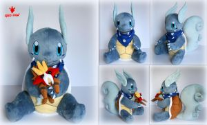 Pokemon - Wartortle OC Bubble - Plush