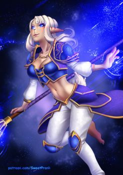 A-Chan cosplay Jaina by SweetPrank