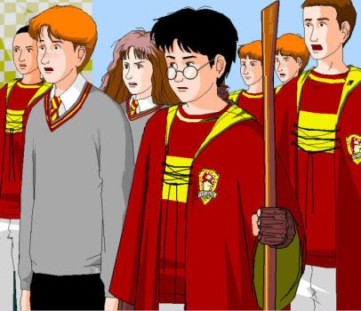 Gryffindor Reaction by girl2004