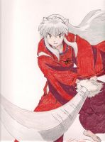 Inuyasha by amber-greggy