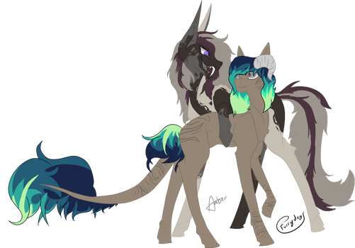 Foster x Ocean by Amber2206