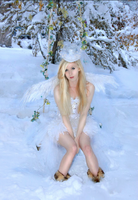 Snow Angel by the-little-skylark