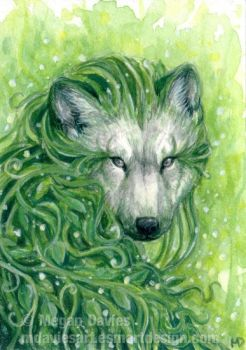 The Plant Spirit ACEO by Pannya