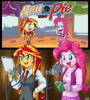 The Lil' Sun and Pie by uotapo