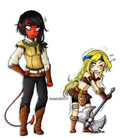 Commission: Mytties - Tia'iat by Selaphi
