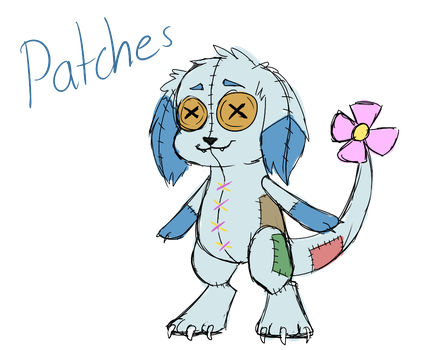 Patches (New OC) by Piepaws