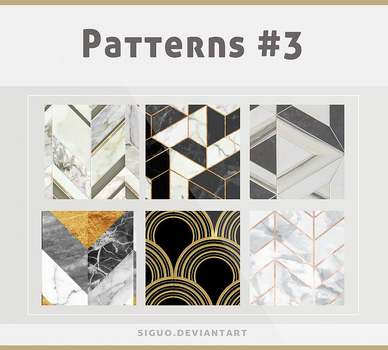 #03 Patterns by Bai by Siguo