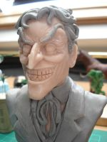 Joker wip, nearly there... by steveyoungsculptor