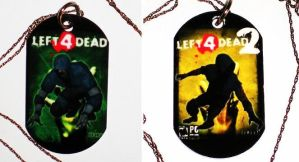 Hunter Dog Tags by catmasterwithfruit