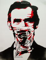 Lincoln Patriot Thug Stencil by abcartattack