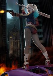 Harley Quinn by wingwingwingwing