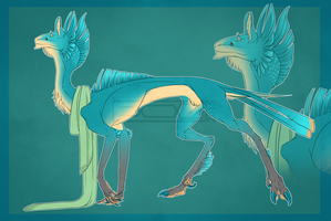 Auction #32 Blue creature [Closed] by Aivomata