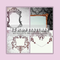 set 11 - 12 icon textures by airockz69