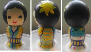 Summer Kokeshi Doll by Froggy-Spaztastic