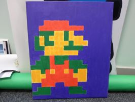 Mario Painting by xFlowerstarx
