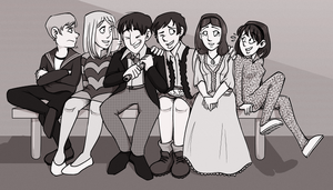 look at these late 60s cuties by HinoNeko