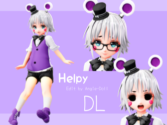 [MMD FNAF] Helpy DL by Angie-Doll