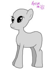 My first MLP base ((plz dont hate)) by AlyssumPetal