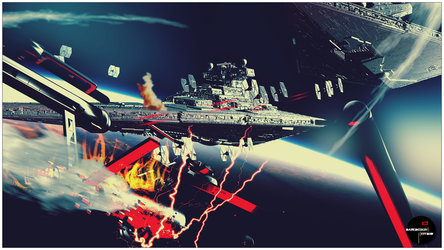 Empire Strikes Federation (70's Edition) by DareDesignStudio