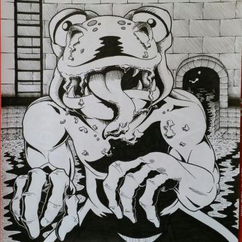 Sewer Creature by Eon-Wilsun