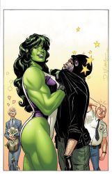 She-Hulkish cover by CeeCeeLuvins