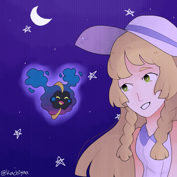 oh you. what're you doing out at night... by cinn-pie