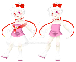 .:UTAU:. Kitty Kokone 2013 Design by A-Daiya