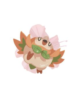 I choose you...Rowlet! by Honeysaberz