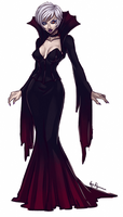 Halloween Special - Ell the Vampire Mistress by ryumo