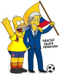 Jose Nestor Pekerman en los Simpsons by edwheeler