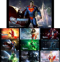 DCUO Heroes PS3 Theme by Oxhine
