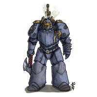 Space Marine by LordCarmi