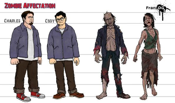 Zombie Affectation Concept art by FranzDG