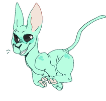 blep (animated) by aliensphynx