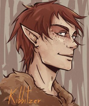 Puck: another freckled dude by Kibbitzer