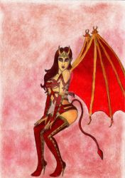 Request - Succubus by MyFantasyWorldITA