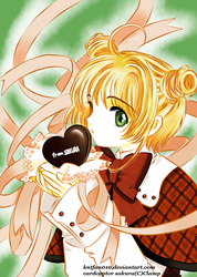 my valentine colored by kntfan010