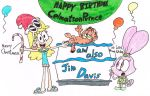 A Gift for CelmationPrince and Jim Davis (Color) by thecrazyworldofjack