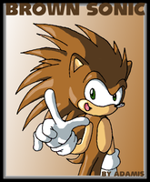 Hedgehogs: Brown Sonic by ThePandamis