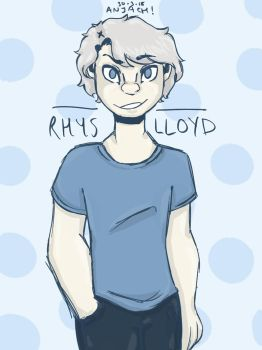 Rhys Lloyd (New Ghost Oc) by Anjach