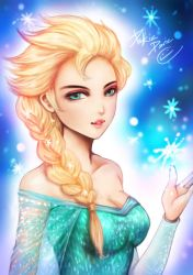 Fan Art- Elsa by pakkiedavie