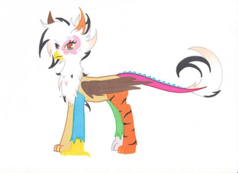 Cacophony - Discord x Griffon by Ocean-Drop