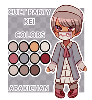 (THEME ADOPT) CULT PARTY KEI ADOPT by ArakiChan