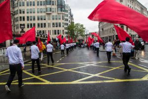 May 2014 Protest, London. by LouHartphotography