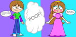 Guy to Princess TF/TG Poof Sequence by arrienne408