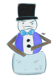 SNOWMAN by AwesomeYay99