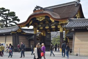 Nijo Castle Gate by Muse-4-Life