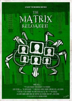 Matrix reloaded minimal poster by israeldonch