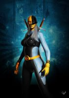 Ravager (Rose Wilson) Fan art by ArrtMan